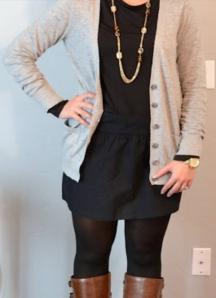 Black Dress Model
