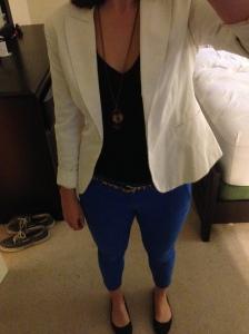 Blue Pants Me