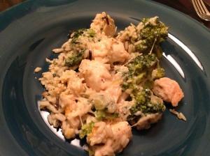 Chicken Broccoli Done