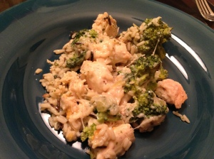 Chicken Broccoli Done