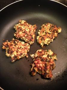 Chicken Patties Done