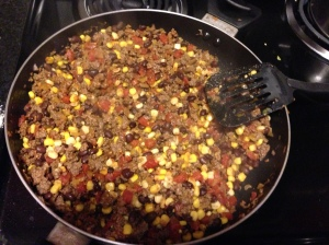 Mexican Casserole Cooking