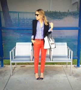 Red Pants & Gingham
