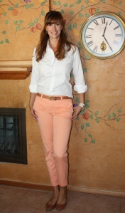 Peach Pants Inspiration