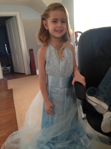 My niece Brielle in my prom dress