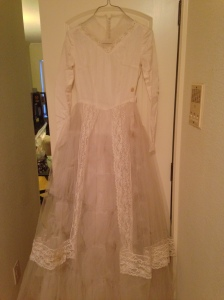 My grandma's wedding dress